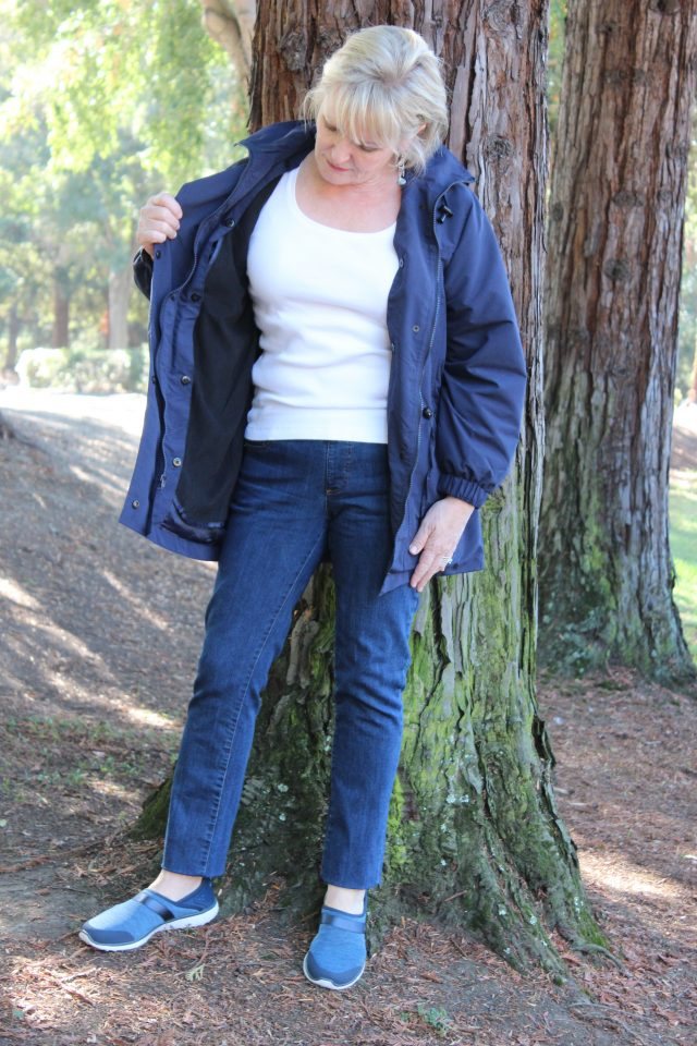 All season Anorak from Chadwicks of Boston is perfect for fall camping