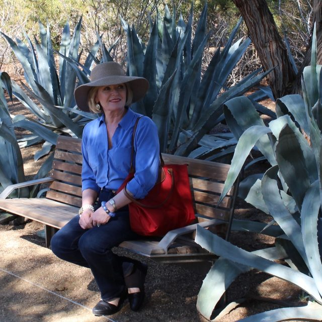 touring the Annenberg Estate and Gardens