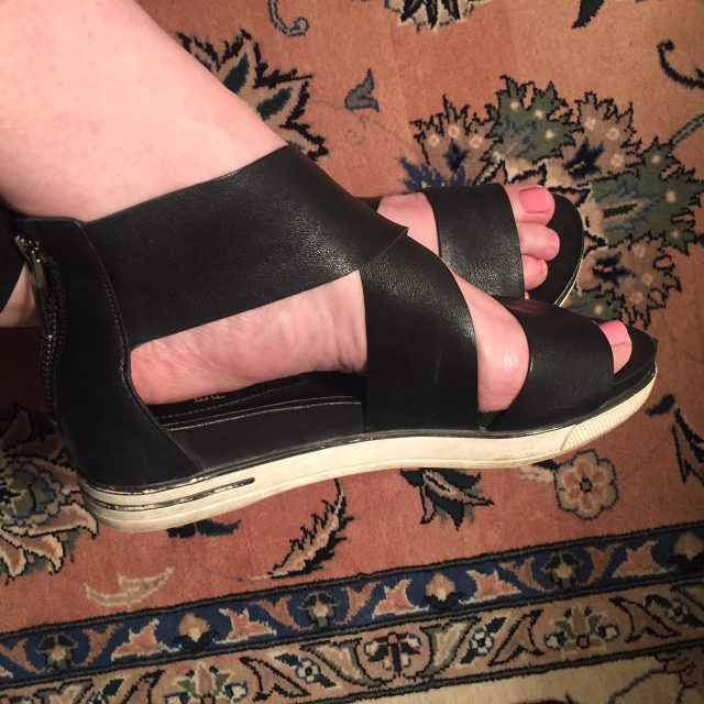 Eileen Fisher sport sandal flatform