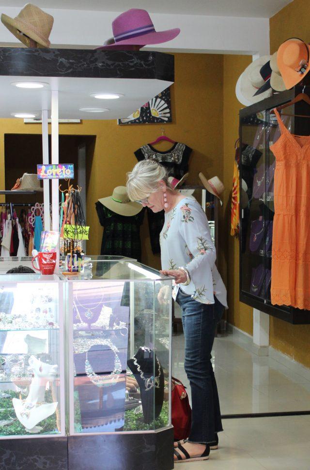Jewelry shopping in Loreto
