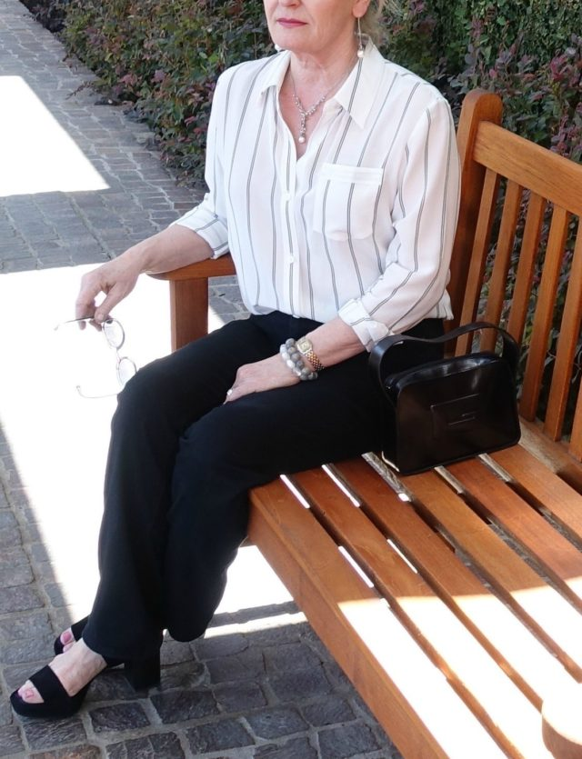 Jennifer Connolly of A Well Styled Life wearing LILYSILK