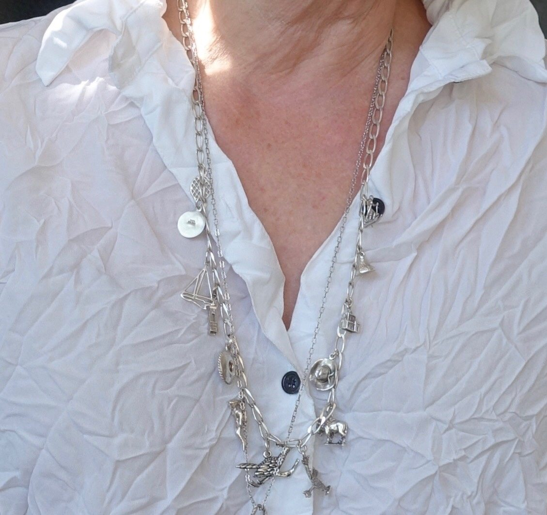 Jennifer Connolly of A Well Styled Life charm necklace