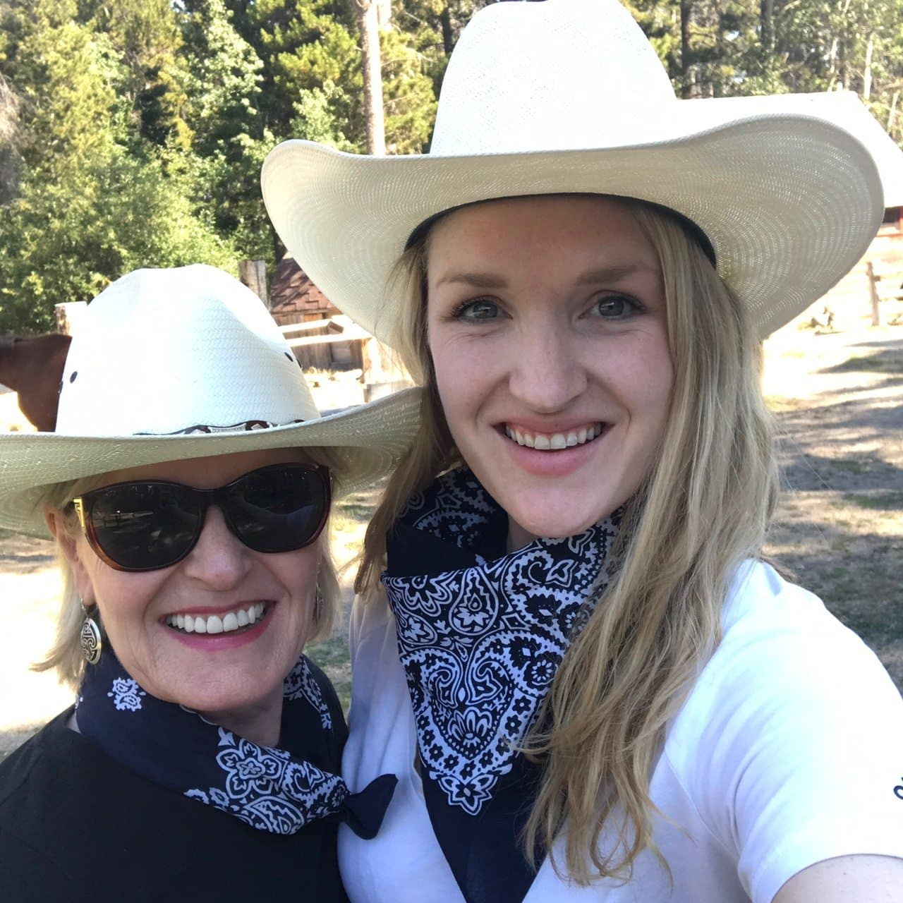 Jennifer Connolly of A Well Styled Life in Montana with her daughter