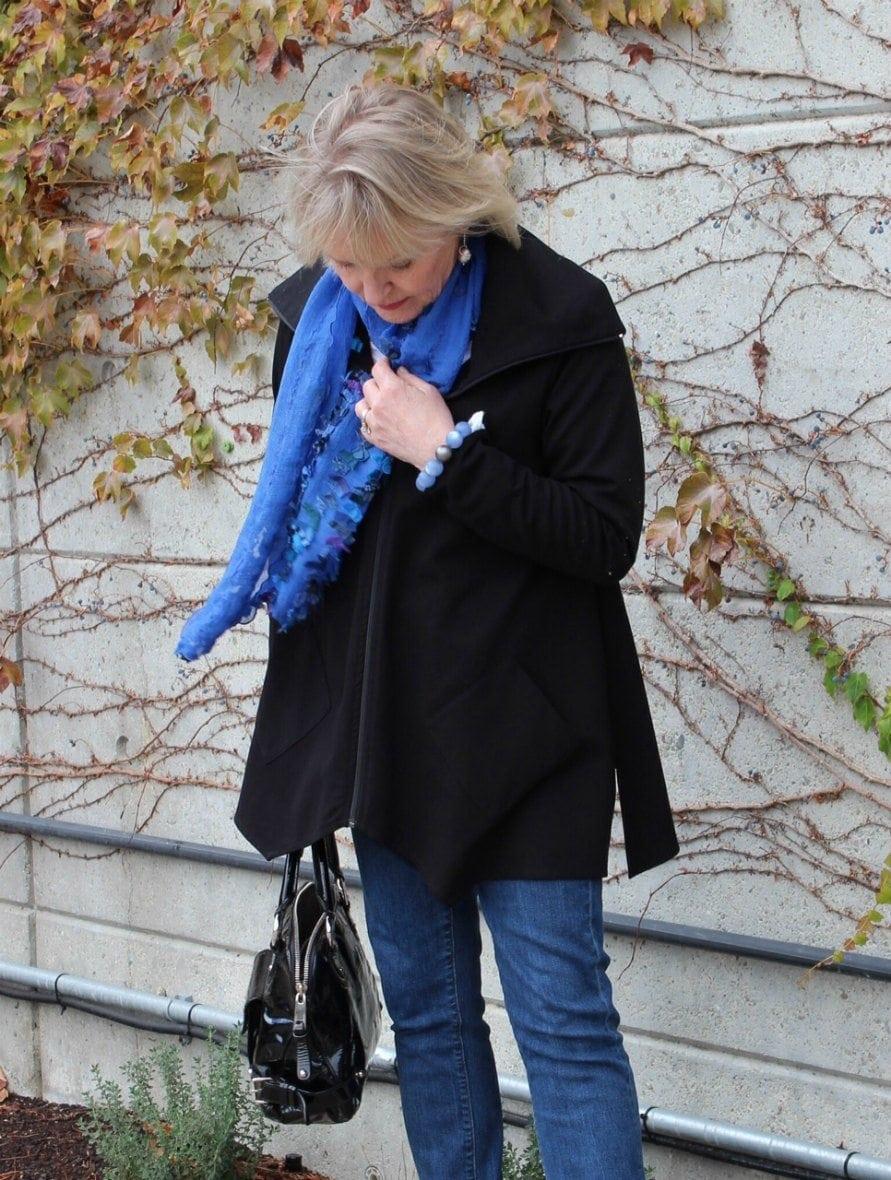 Jennifer Connolly wearing Artful Home garments