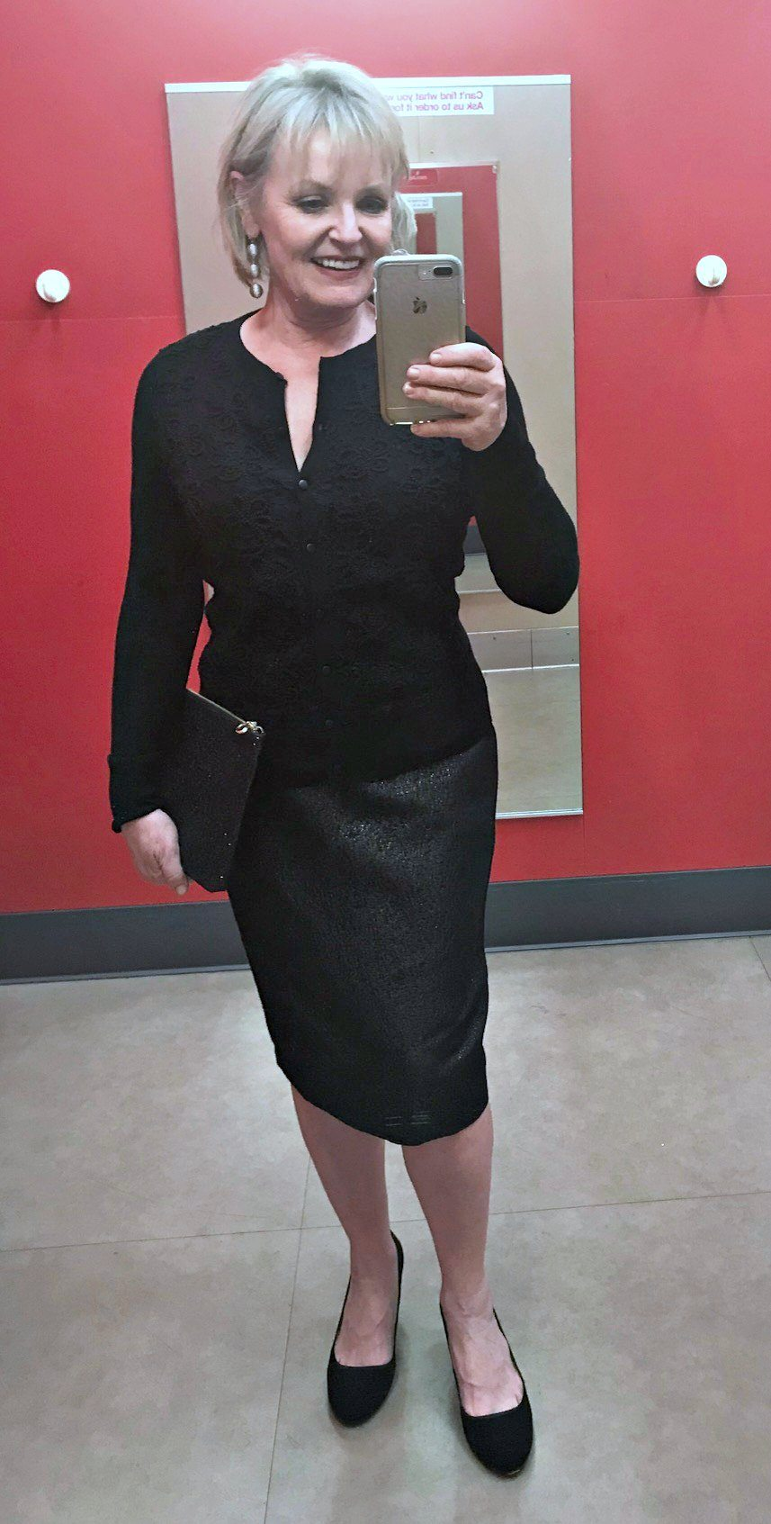 Jennifer Connolly of A Well Styled Life wearing Target party skirt