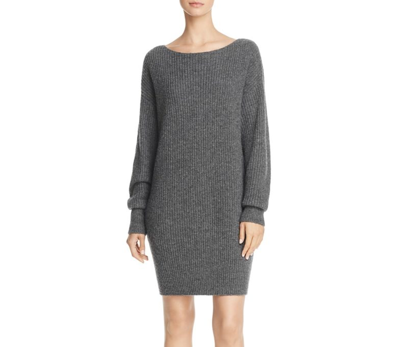 Theory Sweater dress on A Well Styled Life